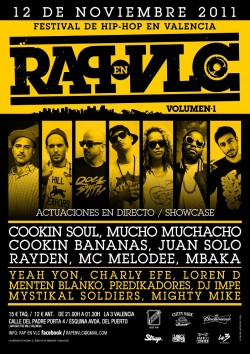 Rap en Vlc festival en Valencia