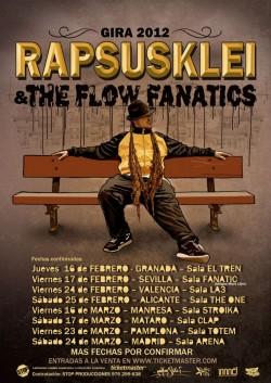 Rapsusklei & The Flow Fanatics en Mataró