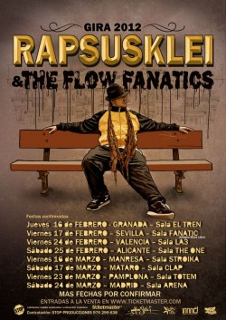 Rapsusklei & The Flow Fanatics en Pamplona