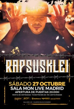 Rapsusklei en Madrid
