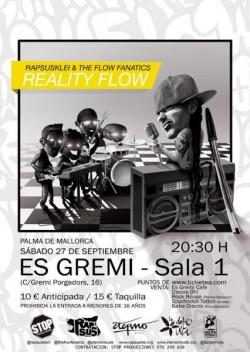 "Rapsusklei presenta ""Reality Flow"" en Palma De Mallorca"
