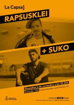 Rapsusklei y Suko en El Prat de Llobregat