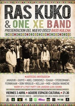 Ras Kuko presenta Bass Kulcha en San Cristobal de La Laguna