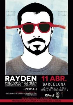 Rayden en Barcelona