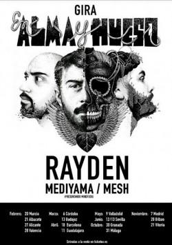 """Rayden presenta """"En alma y hueso"""" en Barcelona"""