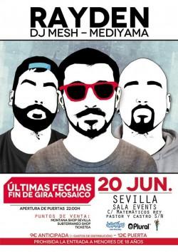 """Rayden presenta """"Mosaico"""" en Sevilla"""