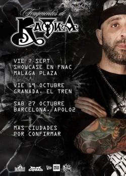 """Rayka presenta """"Fragmentos"""" en Barcelona"""
