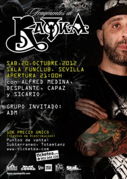 "Rayka presenta ""Fragmentos"" en Sevilla"