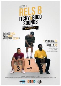 """Rels B. """"Boys don't cry tour"""" en Alicante"""