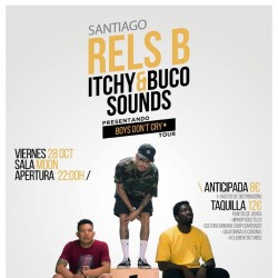 """Rels B. """"Boys don't cry tour"""" en Santiago De Compostela"""