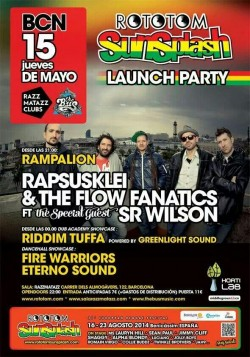 Rototom Sunsplash Launch Party en Barcelona