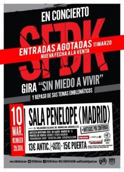 SFDK Segunda Fecha en Madrid