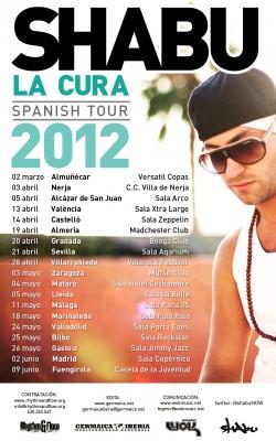 Shabu La Cura Tour en Zaragoza