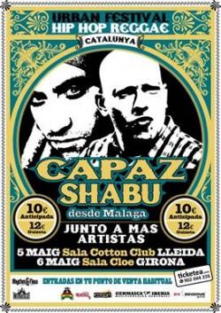 Shabu y Capaz en Girona