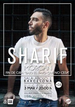 Sharif - Fin de gira en Barcelona