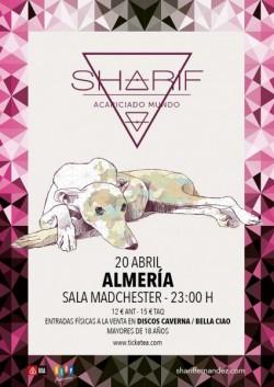 """Sharif presenta """"Acariciado mundo"""" en Almería"""