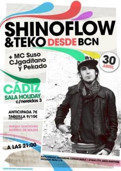 Shinoflow en concierto en Holiday (Cádiz) en Cádiz