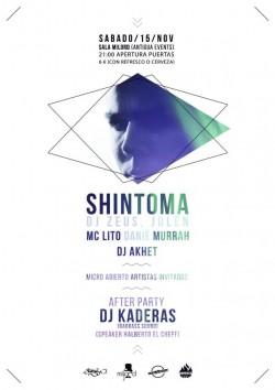 Shintoma, DJ Zeus, Julen, MC Lito y más en Sevilla