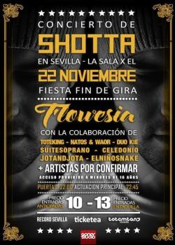 "Shotta presenta ""Flowesia"" en Sevilla"