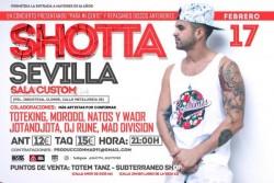 """Shotta presenta """"Para mi gente"""" en Sevilla"""