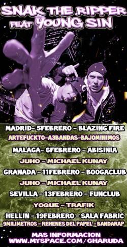 Snak The Ripper Spain Tour (Granada) en Granada