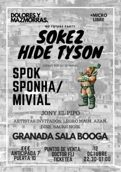 Sokez y Hide Tyson en Granada