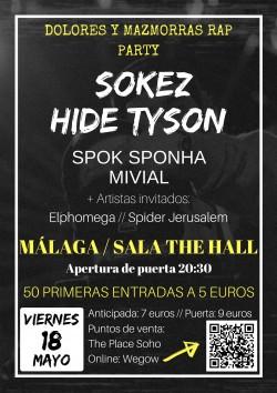 Sokez y Hide Tyson en Málaga