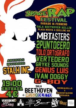 Space Rap Festival en Hellin