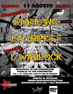 Stahl Inc., La triple F y L. Warlock en Alicante