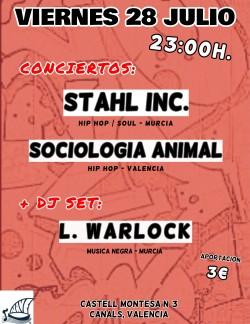 Stahl Inc., Sociología animal y L. Warlock en Canals