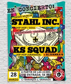 Stahl Inc. y KS Squad en Granada