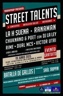 Street Talents en Madrid