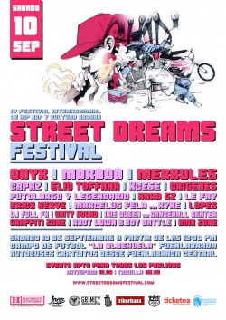 Street dreams Festival 2016 en Fuenlabrada