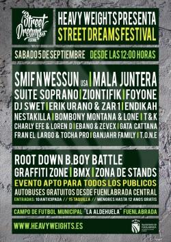 Street dreams festival 2015 en Fuenlabrada