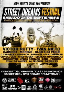 Street dreams festival en Fuenlabrada