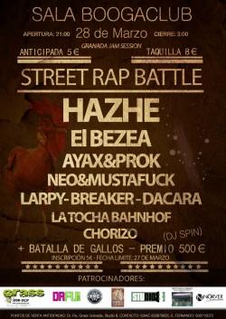 Street rap battle en Granada