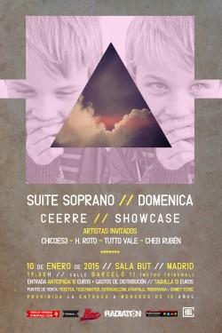 """Suite Soprano presenta """"Domenica"""" en Madrid"""