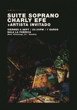 Suite Soprano y Charly Efe en Gandía