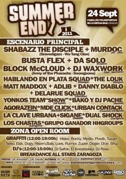 Summer end festival 2 en Zaragoza