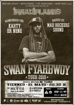 Swan Fyahbwoy en concierto en Bilbao