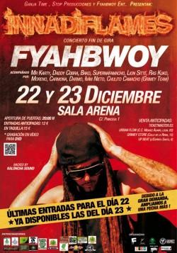 Swan Fyahbwoy fin de Gira (1) en Madrid