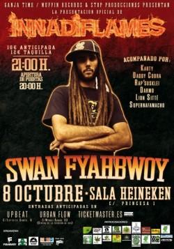 Swan presenta 'Innadiflames' en Madrid