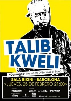 Talib Kweli (Barcelona) en Barcelona