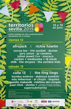 Territorios Sevilla 2015 (Sábado) en Sevilla