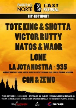 The Last Festival - Hip Hop Night en Zaragoza