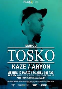Tosko, Kaze y Aryon en Murcia