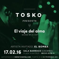 """Tosko presenta """"El viaje del alma"""" en Cáceres"""