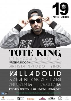 Toteking en Valladolid