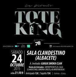 "Toteking presenta ""78"" en Albacete"