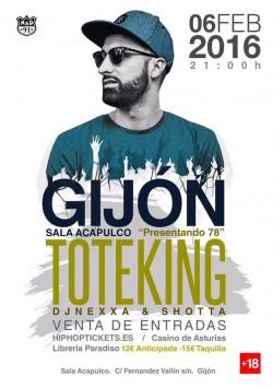 """Toteking presenta """"78"""" en Gijón"""